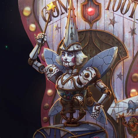 ArtStation - Tooth Fairy Automaton, Dariya Ria