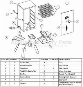 Masterbuilt Electric Smoker Parts 20070410