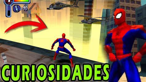 curiosidades del videojuego spider man ps  youtube