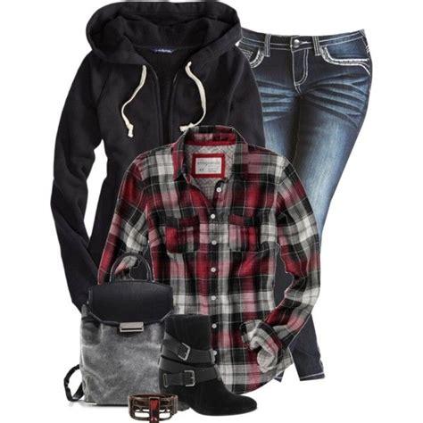 25 Pretty u0026 Plaid Wintertime Outfit Ideas u2013 Polyvore ...
