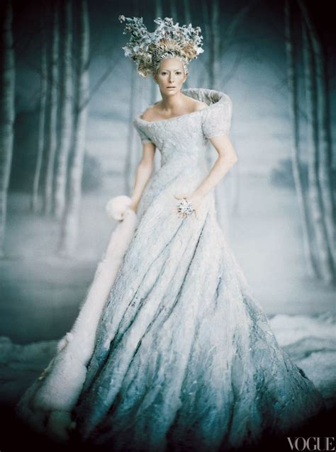 Hazel Brown Art: Queen Jadis- The White Witch concept process