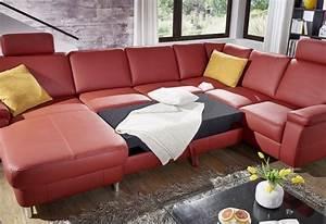 Canapé 6 Places Convertible : grand canap d angle convertible 6 places en u marwin c ~ Teatrodelosmanantiales.com Idées de Décoration