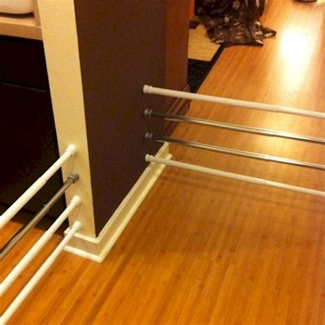 12 secret tension rod uses to declutter the house