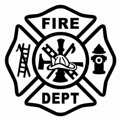 Maltese Cross Firefighter Fire Dept Meaning Department