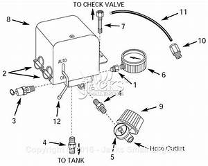 Campbell Hausfeld Cw301000aj Parts Diagram For Pressure