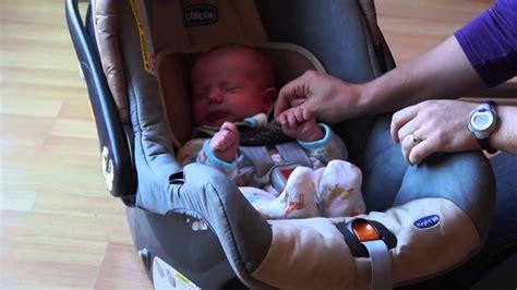 Putting A Newborn In A Car Seat