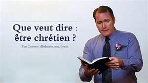 Que Veut Dire Vmc : que veut dire tre chr tien tim conway french ~ Dailycaller-alerts.com Idées de Décoration