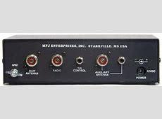 MFJ1025 Rear Panel