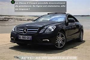 Mercedes Classe C 350e : essai mercedes classe e coup 350 cdi haut standing ~ Maxctalentgroup.com Avis de Voitures