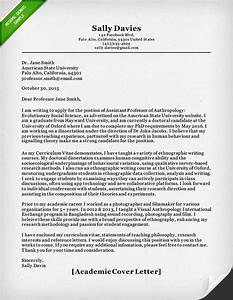 academic cover letter sample resume genius With writing a cover letter for an academic position