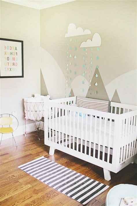 décorer chambre bébé 25 idées stickers pour décorer la chambre de votre bébé