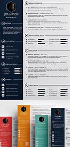 Free creative resume template psd id free stuff pinterest free creative resume for Pinterest template psd