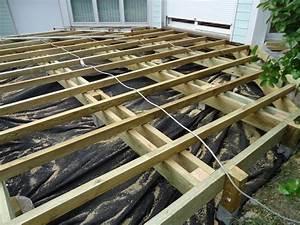 Terrasse Bois Sur Plot Beton : ossature terrasse bois sur plot beton veranda ~ Melissatoandfro.com Idées de Décoration