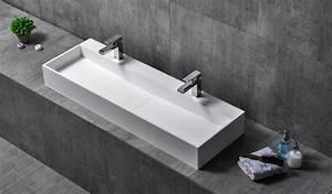 Waschbecken 80 X 40 : wandwaschbecken aufsatzwaschbecken twg07 aus mineralguss pure acrylic 120 x 40 x 15 cm ~ Bigdaddyawards.com Haus und Dekorationen