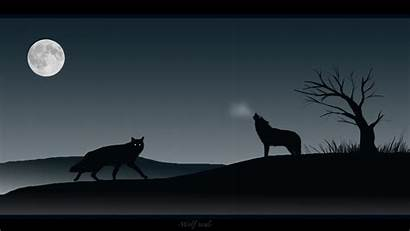 Wolf Wallpapers Moon Soul Howling Dog Animal