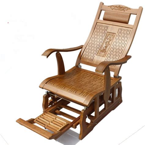 modern bamboo rocking chair glider rocker