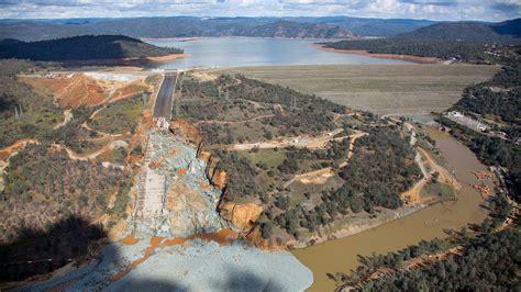 californias damaged oroville dam spillway storms