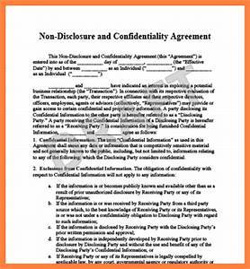 10 confidentiality agreement template south africa With letter of confidentiality and nondisclosure template