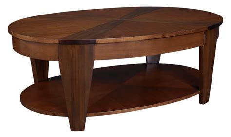 top wooden oval coffee tables