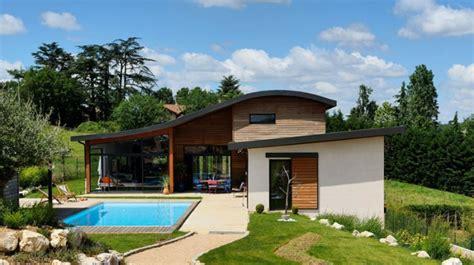 maison contemporaine bois b 233 ton 224 brignais