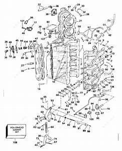 Johnson 1993 200 - J200czetd  Cylinder  U0026 Crankcase