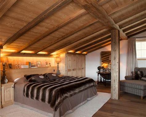 deco chambre chalet chambre style montagne solutions pour la décoration