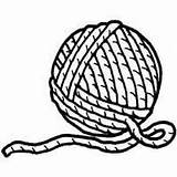 Yarn Ball Coloring Clipart Printable Drawing Clip Cat Cliparts Stencil Letter Knitting Playing Template Surfnetkids Library Crochet Sheets Getdrawings Yarns sketch template