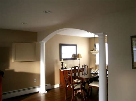 build  dining room arch hgtv