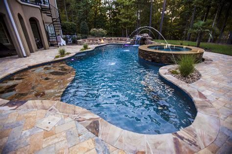 charlotte raleigh greensboro pool spas