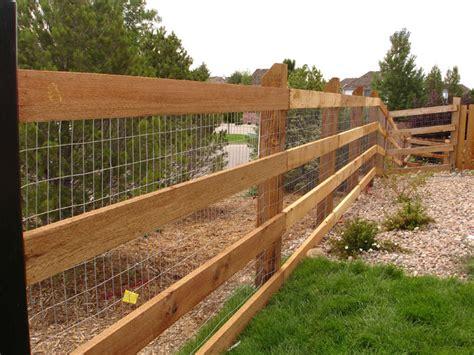 Installed Wood Fencing In Colorado