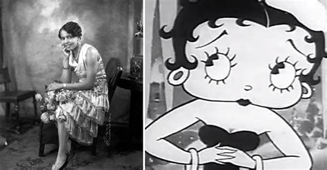 scandalous story   real betty boop  blow