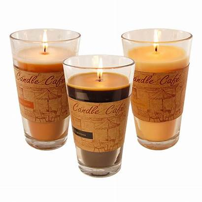 Scented Candles Transparent Coffee Candle Holders 11oz
