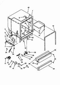 Tub Assembly Diagram  U0026 Parts List For Model Du920pfgq2