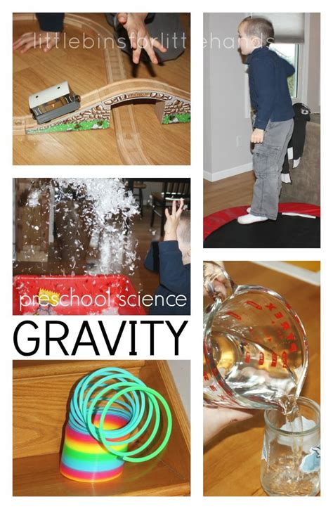 gravity science experiments and activities for 805 | Gravity Science Preschool Science Activity Science Around The House