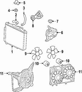 Cadillac Cts Radiator  Trans  Manual  Cooling