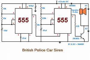 British Police Car Siren