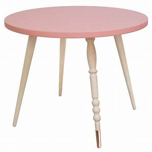 Table Basse Enfant : table basse ronde h tre rose jungle by jungle mobilier enfant ~ Teatrodelosmanantiales.com Idées de Décoration