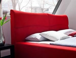 Polsterbett 180x200 Ohne Lattenrost Und Matratze : polsterbett cloude bett 180x200 cm rot mit lattenrost matratze wohnbereiche schlafzimmer betten ~ Indierocktalk.com Haus und Dekorationen