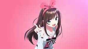 Wallpaper Anime Pink - wallpaper kizuna ai anime pink 4k anime 15183