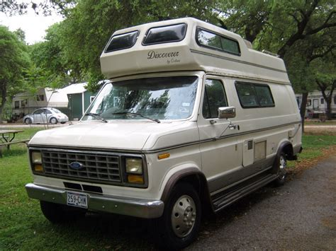 1991 Ford E250 Discoverer By Cobra 19ft Camper For Sale