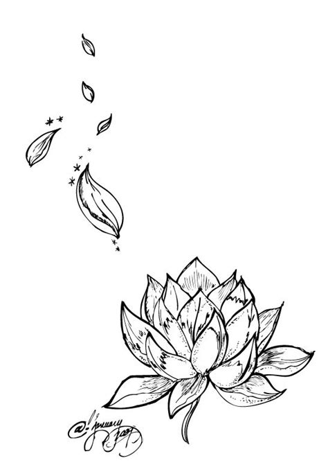 Lotus on lower ab with stray petals up hip and side? | Picture tattoos, Forearm tattoos, Lotus tat