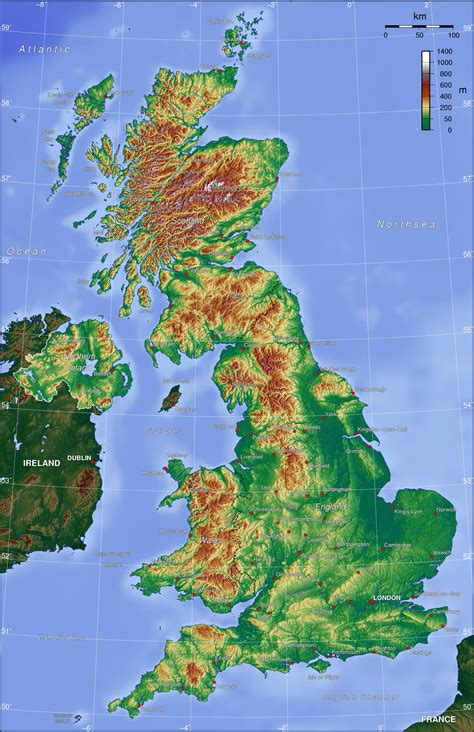 maps  england britain   uk