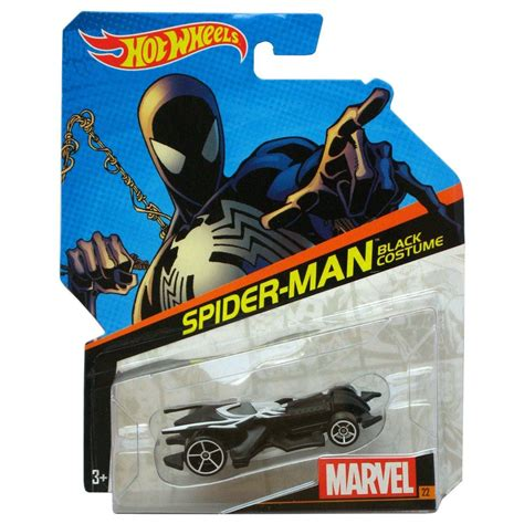 Spider Man Black Costume  Hot Wheels  Marvel Character