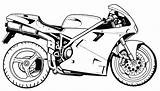 Coloring Motorcycle Printable Motorcycles Raskrasil Ultrafast Drive2vote sketch template