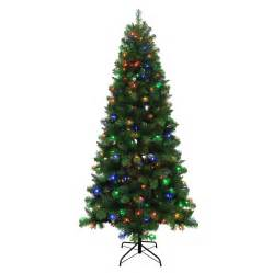 5ft Pre Lit Led Christmas Tree by Shop Holiday Living 7 5 Ft 789 Count Pre Lit Alpine