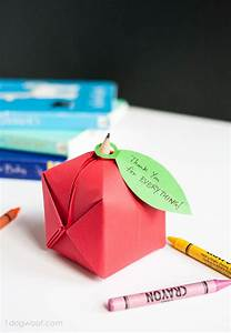 Origami, Apple, Paper, Craft