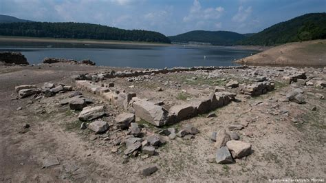 drought uncovers historical treasures  germany germany