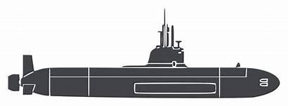 Submarine Kapal Clipart Selam Australia Transparent Naval