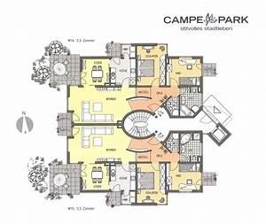 Mehrfamilienhaus Grundriss Modern : modernes bauen wohnanlage mit b ros und tiefgarage blauhaus architekten ~ Eleganceandgraceweddings.com Haus und Dekorationen