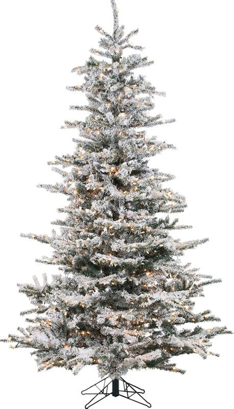 christmas tree at the lark manor pre lit 85 white spruce trees artificial 6898